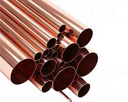 Tubo de cobre 4 polegadas