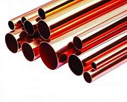 Tubo de latão redondo