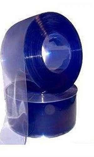Bobina de PVC cristal rígido