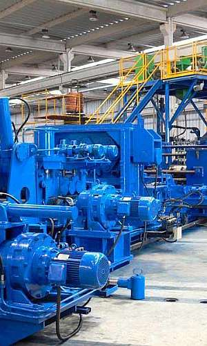 Fábrica de tubos helicoidal