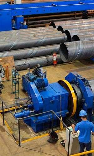 Fabricantes de tubos calandrados