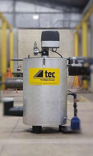 Geradores de água quente industriais