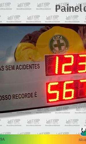"""IND-0059A (INDICADOR DE CIPA 6"""" POLEGADAS ETHERNET (1,12 METRO)"""