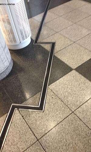 Junta de dilatação para piso