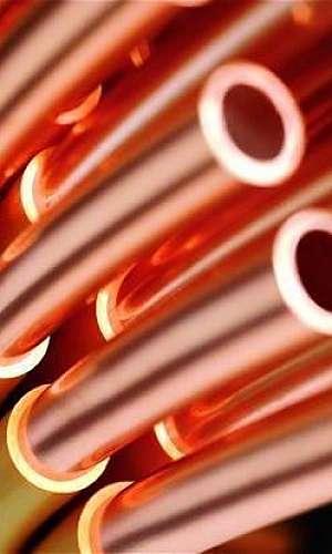 Tubo de cobre preço