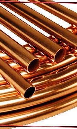 Tubo de cobre