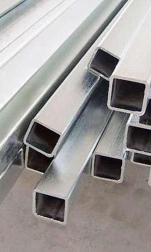 Tubo quadrado galvanizado