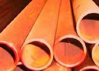 Loja de tubos de latão