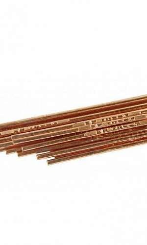 Vareta de solda cobre