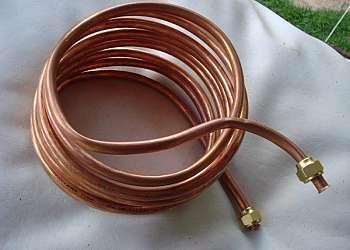 Tubos de cobre para refrigeração
